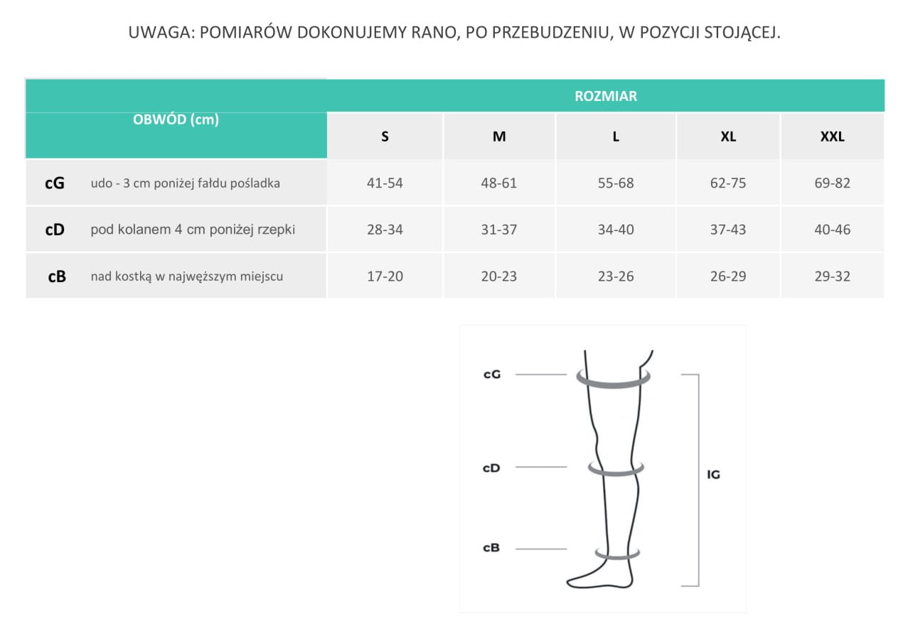 Aries Anti-Trombo Premium Profilaktyczne Pończochy Przeciwzakrzepowe zdjęcie numer 3